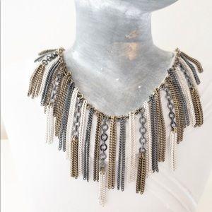 """Silpada mixed metal 19"""" necklace"""